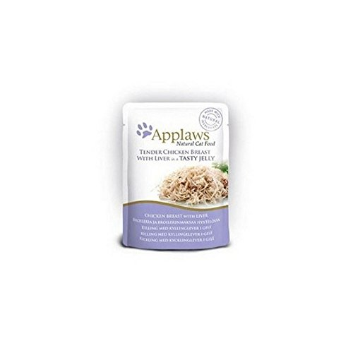 Applaws Chicken with Liver in Jelly Cat Pouch (70g)