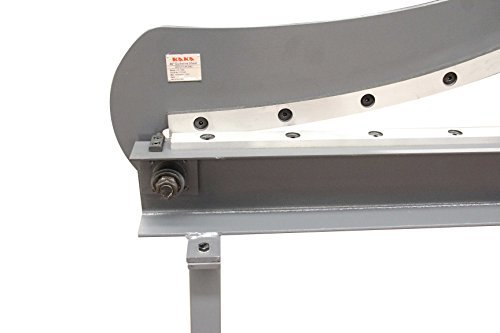 KAKA Industrial HS-1000 Manual Guillotine Shear, 40-Inch,16 Gauge Sheet Metal Fabrication Plate Cutting Cutter With Stand by KAKA INDUSTRIAL (Image #2)