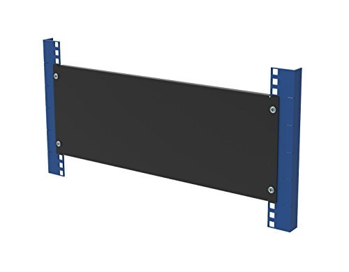 RackSolutions 4U Filler Panel with Stability Flanges - 4u Rack Filler Panel