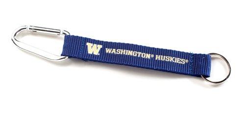 NCAA Washington Huskies Carabiner Lanyard Keyring