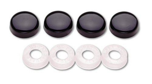 Cruiser Accessories 82050 Screw Covers, Black by Cruiser Accessories (Image #1)