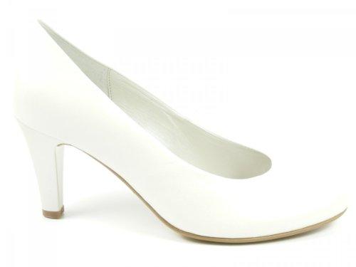 in Übergrößen Pumps Schuhe Damen Wei Weiß GABOR XIT5n