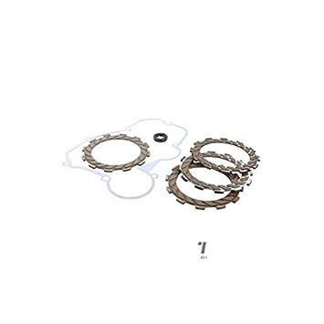 Disco Embrague Moto teknix adaptable Derbi/Senda/Gpr/RS50/RS4/Rx50/SMT y RCR (x4): Amazon.es: Coche y moto