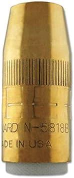 Nozzle,Centerfire,1//2 in BERNARD N-5818B