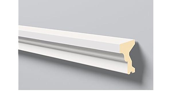 Antepecho Domostyl FA12 Nmc / Molduras para fachadas / Molduras exterior / Moldura poliuretano / Molduras decorativas: Amazon.es: Bricolaje y herramientas