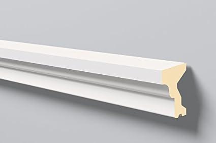 Antepecho Domostyl FA12 Nmc / Molduras para fachadas / Molduras exterior / Moldura poliuretano / Molduras