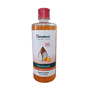 Himalaya PureHand Sanitizers – 500 ml (Orange) & Himalaya PureHands Hand Sanitizer (Lemon) – 500 ml