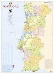 Mapa De Portugal 2 Faces 111 5 X 80 5 Cm Folha