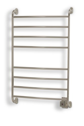 - Warmrails HSKS Kensington Wall Mounted Towel Warmer, Nickel Finish