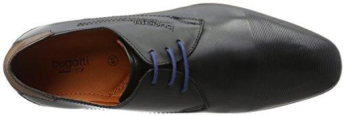 Bugatti Herren 312101081000 Derby Schwarz (schwarz 1000)