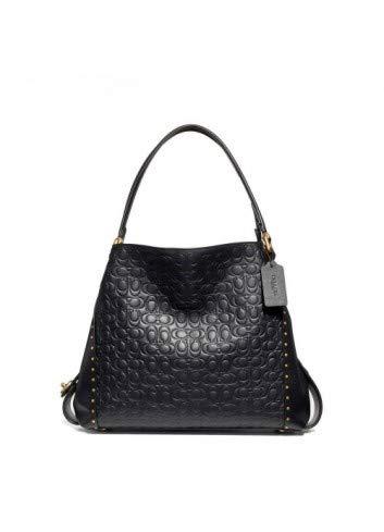 Black Coach Handbag - 7