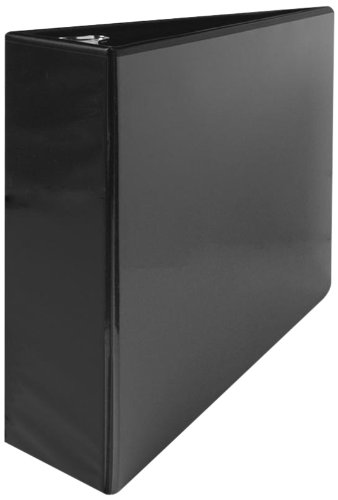 Sparco Standard View Binders, with-Sheet Lifters, 3-Inch Capacity, 8-1/2 x 11 Inches, Black (SPR05740)