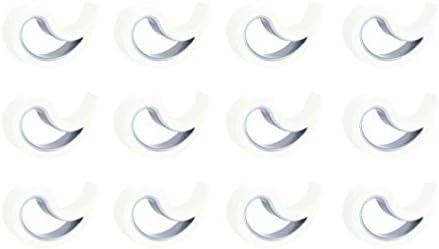 Stoppy Fermaporta//Finestra Set di 12 Disponibile in 4 Varianti Nero