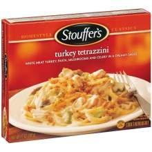Nestle Stouffers Entree Turkey Tetrazzini, 12 Ounce -- 12 per case.