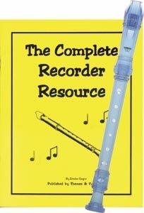 Recorder Pack: Yamaha Blue Soprano Recorder with Complete Recorder Resource Book & CD