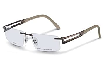 34aa9a6d955b Image Unavailable. Image not available for. Color  Porsche Designs P8173 A  Titanium Reading Glasses