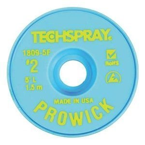 TECHSPRAY 1809-5F DESOLDERING BRAID (1 piece) by Tech Spray
