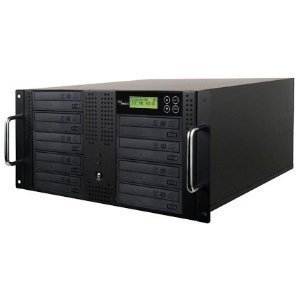 Produplicator 9DVDRM500GB 9 Burner DVD CD Rackmount Duplicators - Copiers Plus 500GB HDD by Produplicator