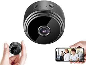 1080P Spy Camera Wi-Fi Wireless Hidden Camera Mini Home Security Camera Built-in Battery Nanny Cam