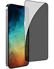 """ZUSLAB Privacy Screen Protector for iPhone 13 Pro Max 6.7"""" Tempered Glass Flim Case Friendly 9H Hardness Anti Spy"""