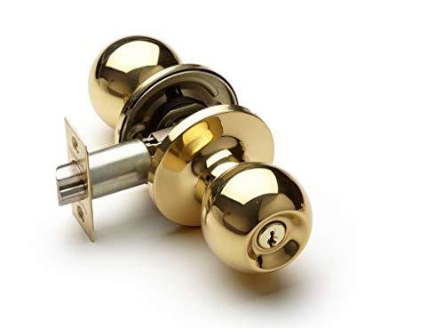 Storeroom/Vestibule Lockset, Polished Brass (Vestibule/Storeroom, Polished Brass)