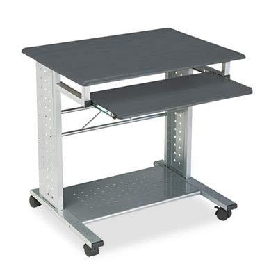 - Tiffany Industries 945ANT Empire Mobile PC Cart with Keyboard Tray, 28-1/2 X 23 X 28-3/4, Metallic Gray