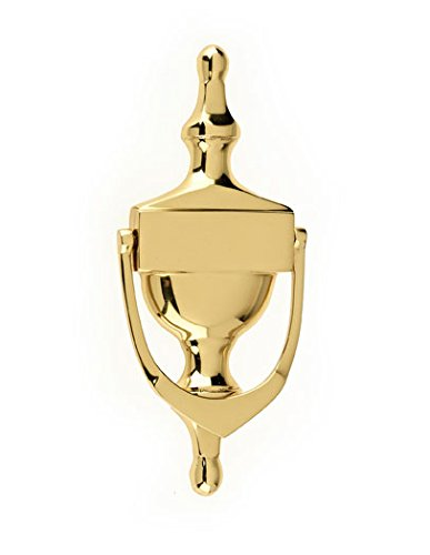 Mila 590004 ProLinea Victorian Urn Door Knocker, Polished Gold, 6' 6