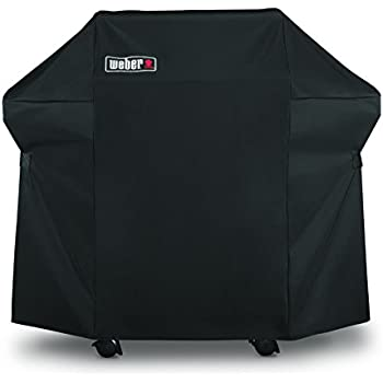 Weber 7106 Grill Cover for Spirit 220 and 300 Series, 52 x 42.8-Inch, Black