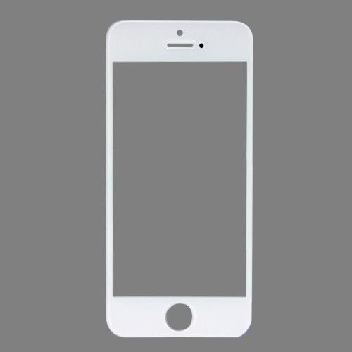 NEEWER Outer Front Screen Glass Lens Replacement For Apple iPhone 5 (White) (Iphone5 Glass Repair Kit White compare prices)