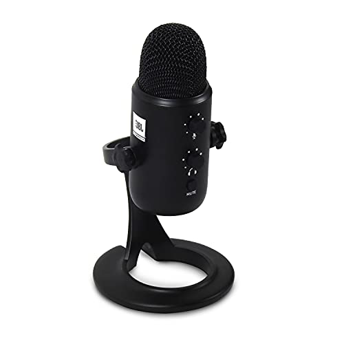 JBL Commercial CSUM10 Condenser USB Microphone for Recording, Streaming and Online Calls, black, medium