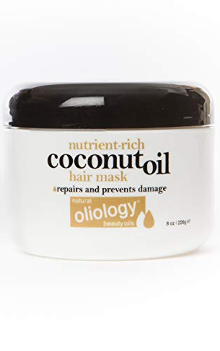 OLIOLOGY Nutrient-Rich Coconut Oil Hair Mask  8 oz/226g
