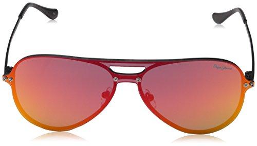 Briggs Sunglasses Black de para Pepe 143 Gafas Hombre Negro Jeans Sol q4wWfE