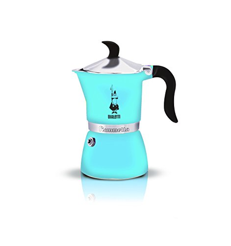Bialetti 4632 Fiammetta Espresso Maker, Light Blue