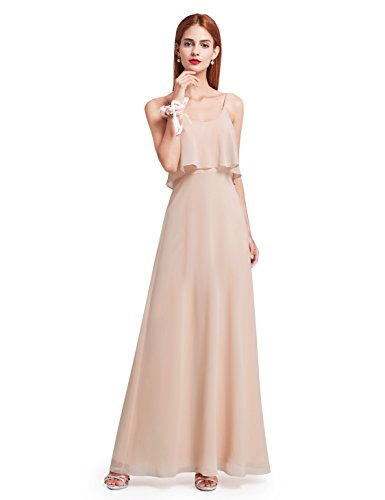 Ever-Pretty Womens Long Mother Of The Bride Dress 10 US Blush