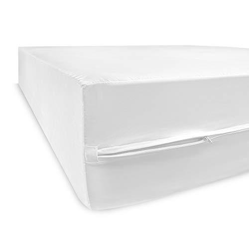 SensorPEDIC MicroShield Water Repellent Bed Bug Protection-Twin XL Mattress Encasement White
