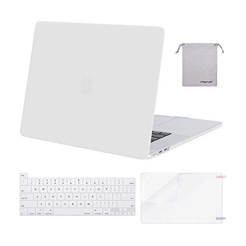 Carcasa Rigida para Macbook Pro 16 19/20 A2141 Blanco