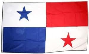 FahnenMax–Bandera de Panamá + Gratis Pegatinas, Flaggenfritze–Bandera, Hissflagge 90 x 150 cm