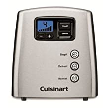 Cuisinart CPT-420C 2-Slice Touch To Toast Leverless Toaster Silver