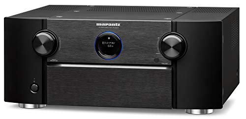 (Marantz AV8805 - 13.2 Channel AV Audio Component Pre-Amp for Premium Home Theater, IMAX Enhanced, Auro-3D & Dolby Surround | Streaming via Wi-Fi, Bluetooth, AirPlay 2, HEOS | Amazon Alexa)