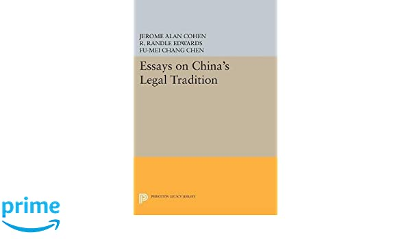 Essays On Chinas Legal Tradition Studies In East Asian Law  Essays On Chinas Legal Tradition Studies In East Asian Law Jerome Alan  Cohen Fumei Chang Chen R Randle Edwards  Amazoncom  Books Buy Assignments Online Uk also Buy Tesis Online  Best English Essay Topics