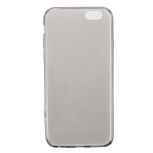 "iPhone 6 Case - SODIAL(R)Ultraduenner Weicher TPU Schwarzer Case fuer iPhone 6Plus 5.5"""