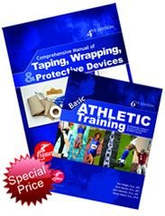 (Basic Athletic Training, 6th Ed./Comprehensive Manual of Taping, Wrapping, and Protective Devices, 4th Ed. [Bundle])