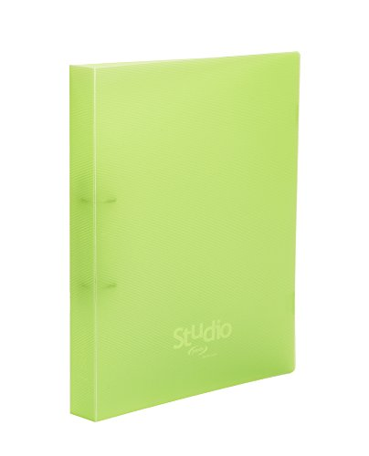 Pardo 854504 – Polypropylene Folder with Design Study, 4 Rings 40, Green by Pardo