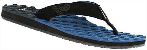 - Cobian Men's OAM Traction Flip Flop, Blue, 11 M US