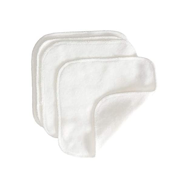 GroVia Reusable Cloth Diapering Wipes, 12 Count