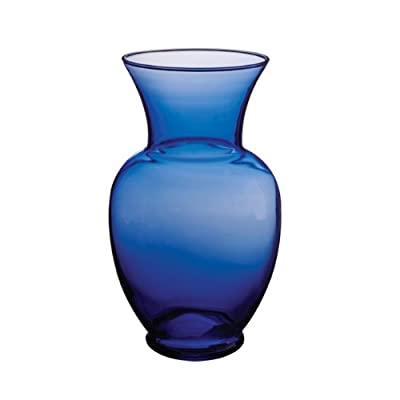 "Syndicate Sales 11"" Spring Garden Vase, Cobalt - 11 Inches Tall Made from Quality Glass Translucent Cobalt Color - vases, kitchen-dining-room-decor, kitchen-dining-room - 31G7eryk6eL. SS400  -"