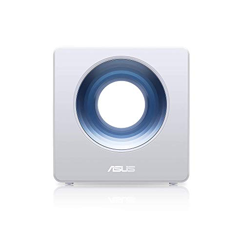 - Asus Blue Cave AC2600 Dual-Band Wireless Router for Smart Homes, Featuring Intel WiFi Technology and AiProtection Network securi