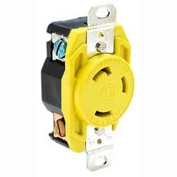 HUBBELL HBL305CRR 30A FEMALE - DOCK RECEPTACLE