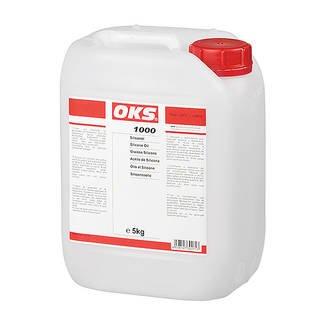 OKS 1050/1, Silikonöl 500 cSt, 5 kg Kanister Gebinde:5 kg Kanister