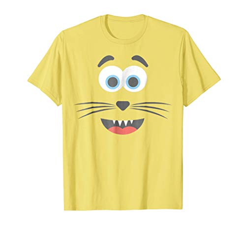 Halloween Emoticon Cat Face Group Costume